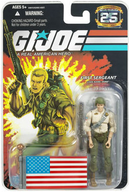 GI Joe 3 3/4 inch 1st Sgt Duke Action Figure
