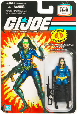 GI Joe 3 3/4 inch Baroness Action Figure