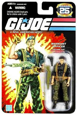 GI Joe 3 3/4 inch Flint Action Figure - Cartoon Logo packaging