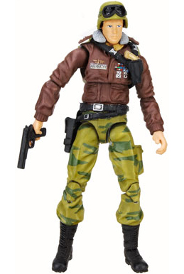 GI Joe 3 3/4 inch Hawk Action Figure