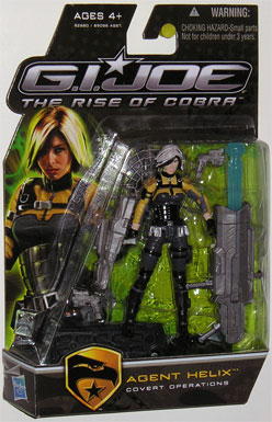 3 3/4 inch, GI Joe - The Rise of Cobra, Agent Helix action figure