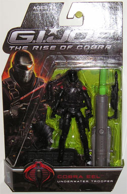 3 3/4 inch, GI Joe - The Rise of Cobra, Cobra Eel action figure