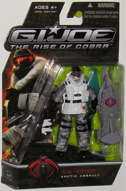 3 3/4 inch, GI Joe - The Rise of Cobra, Ice Viper action figure
