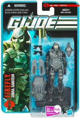 G.I. Joe Pursuit of Cobra Firefly v2 Action Figure