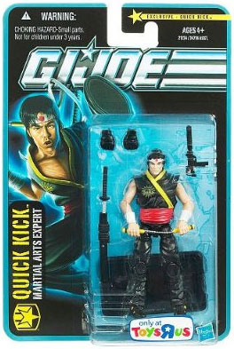 G.I. Joe Pursuit of Cobra Exclusive 3 3/4 Inch Quick Kick Action Figure