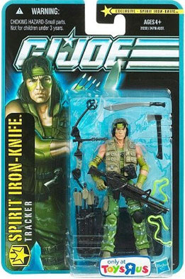 G.I. Joe Pursuit of Cobra Exclusive 3 3/4 Inch Spirit Iron Knife Action Figure